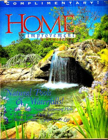 Natural design for Pool design magazine