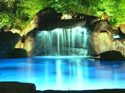 Swimming Pool Design Waterfall